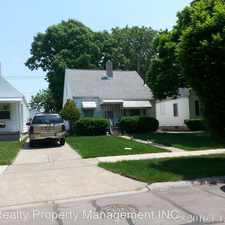 Rental info for 3612 WERSELL - 1 in the Toledo area