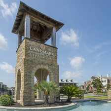 Rental info for Landmark at Cypress Falls