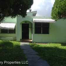 Rental info for 94 NW 48th Street in the Miami area