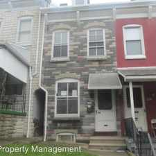 Rental info for 1232 Green St. in the Reading area