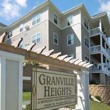 Rental info for Granville Heights Senior Apartments