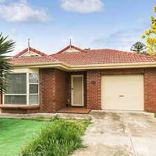 Rental info for Fantastic home with 2 living areas in the Adelaide area