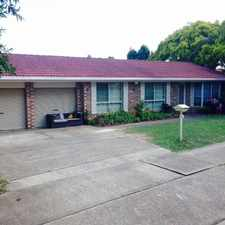 Rental info for Family home with a Huge Backyard !!!! in the Wetherill Park area