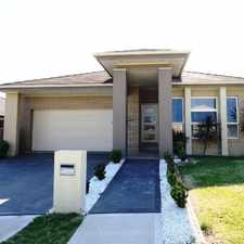 Rental info for Entertain this summer in open plan 4 bedroom home. in the Spring Farm area
