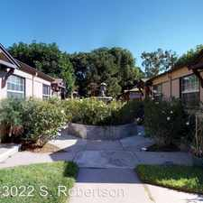 Rental info for 2956 S. Robertson Blvd. APT 2962 in the Los Angeles area