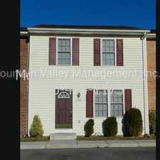 Rental info for Large Two Master Bedroom 2.5 Bath Townhouse.