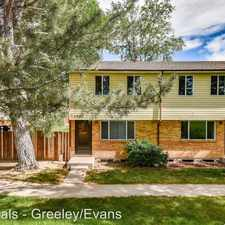 Rental info for 1745-1773 30th St in the Greeley area