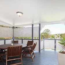 Rental info for QUEENSLANDER WITH LARGE YARD in the Brisbane area