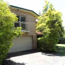 Rental info for Fantastic two story home in a quiet street with farmland across the street! in the Brisbane area
