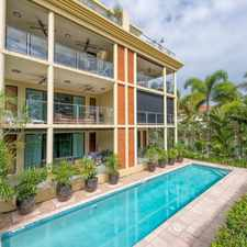Rental info for Stunning Beachfront Apartment. in the Cairns area