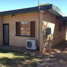 Rental info for SPACIOUS UNIT - Fenced yard and garden shed! in the Mount Isa area