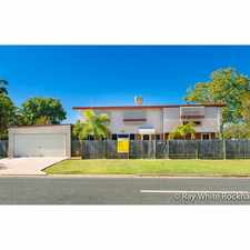 Rental info for Large Family Home/ Internal Stairs in the Rockhampton area