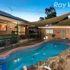 Rental info for PERFECT FAMILY HOME WITH A SWIMMING POOL!