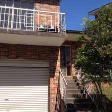 Rental info for 2 Bedroom Townhouse in the Sydney area