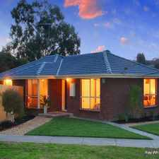 Rental info for WALKING DISTANCE TO EVERYTHING in the Watsonia area