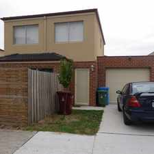 Rental info for FREESTANDING TOWNHOUSE in the Dandenong North area
