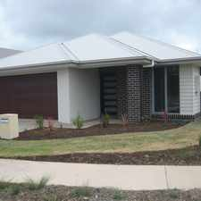 Rental info for New Home Located In Sought After Aurora Estate! in the Caloundra West area