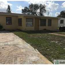 Rental info for BEAUTIFUL 4/2 SINGLE FAMILY HOUSE ALL REMODELED! in the Fort Lauderdale area