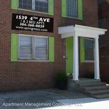 Rental info for 1539 4th Ave - 7 in the 25703 area