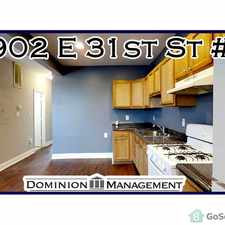 Rental info for Porch front property! Fantastic new flooring throughout! in the Baltimore area