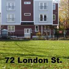 Rental info for 72-74 London St in the Central Maverick Square - Paris Street area