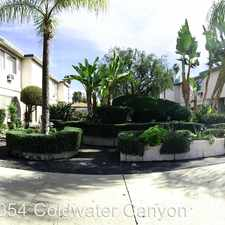 Rental info for 6954 Coldwater Canyon APT 02 in the Los Angeles area