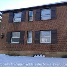 Rental info for 3233 W. Juneau Avenue Unit #1 in the Midtown area