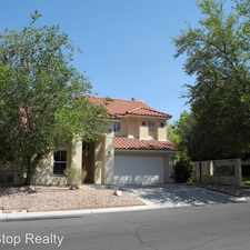 Rental info for 2220 Orchid Blossom Dr in the Las Vegas area