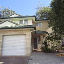 Rental info for Affordable Three Bedroom Townhouse in the Mount Gravatt East area