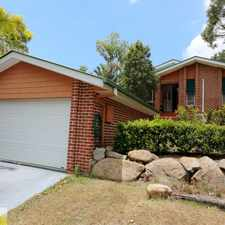 Rental info for UNDER APPLICATION Lowset three bedroom brick home in Albany Creek in the Bunya area