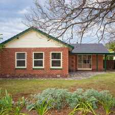 Rental info for 3 bedroom beauty, 9km to the CBD in the Adelaide area