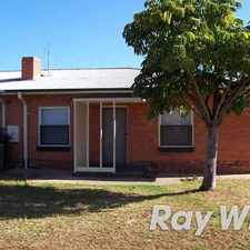 Rental info for 2 bedrooms, seperate lounge, floorboards throughout, enclosed yard