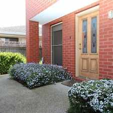 Rental info for Immaculate townhouse located in the heart of Geelong! in the East Geelong area
