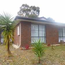 Rental info for Spacious 3 Bedroom home becoming available this New Year in the Melbourne area