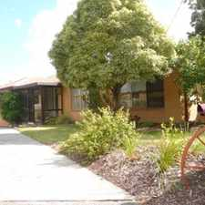 Rental info for Cosy Family Home! in the Frankston area