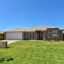 Rental info for Near New Executive Home! in the Toowoomba area