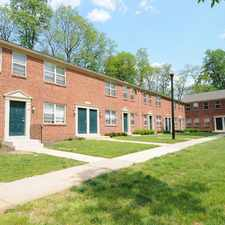 Rental info for Seton Park in the Baltimore area