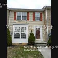 Rental info for 657 Stonewall Dr.