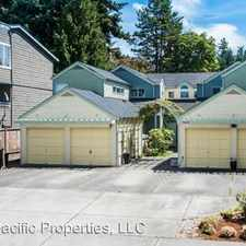 Rental info for 19234 15th Ave NW - Unit B in the Shoreline area