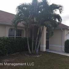 Rental info for 1105 NW 19th Place