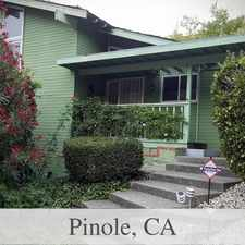 Rental info for 4 bedrooms House in Pinole. 2 Car Garage!