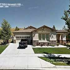 Rental info for 7765 Harvest Hill in the Reno area