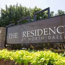 Rental info for The Residence at North Dallas Apartments in the 75007 area