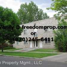 Rental info for 1102 Belford Ave A
