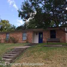 Rental info for 1101 Wedgewood