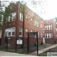 Rental info for Beautiful brick building with updated kitchen and hardwood flooring in 2017. in the Chicago area
