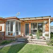 Rental info for RARE TORRENS TITLE VILLA in the Glenfield area