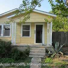 Rental info for 507 East 54th in the Austin area