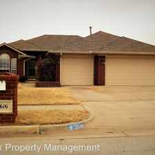 Rental info for 2616 Southern Hills in the 73160 area