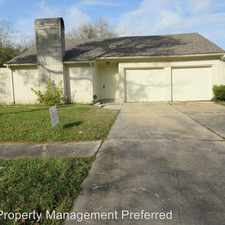 Rental info for 10414 Huntington Way Dr in the Houston area